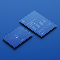 VI视觉设计-信封信纸