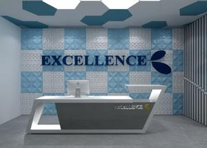 企业形象墙前台艺术设计制作