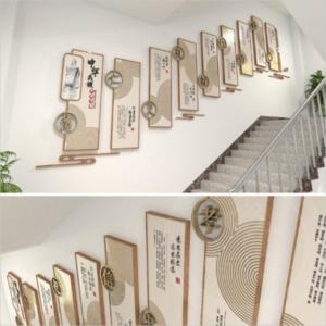 楼梯走道校园文化