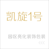 南宁凯旋1号亮化装饰包装