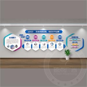 企业发展历程展示墙